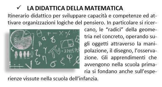 La didattica della matematica
