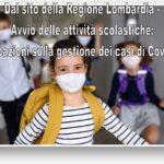 Bambini con mascherina dal sito della Regione Lombardia
